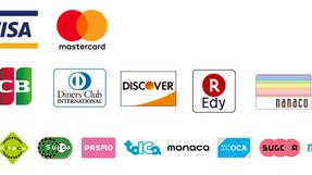 利用可能なクレジットカード・ICカードを追加しました。