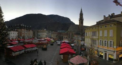 שווקי כריסטמס ואווירת חג המולד בצפון איטליה