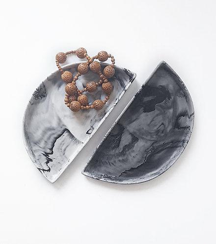 Stone Effect Trinket Tray