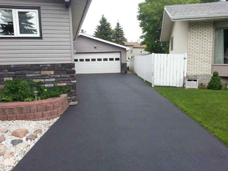 Pour in Place Driveway