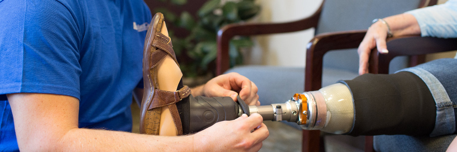 The best amputee care in Maine and the best prosthetic patient care in Maine