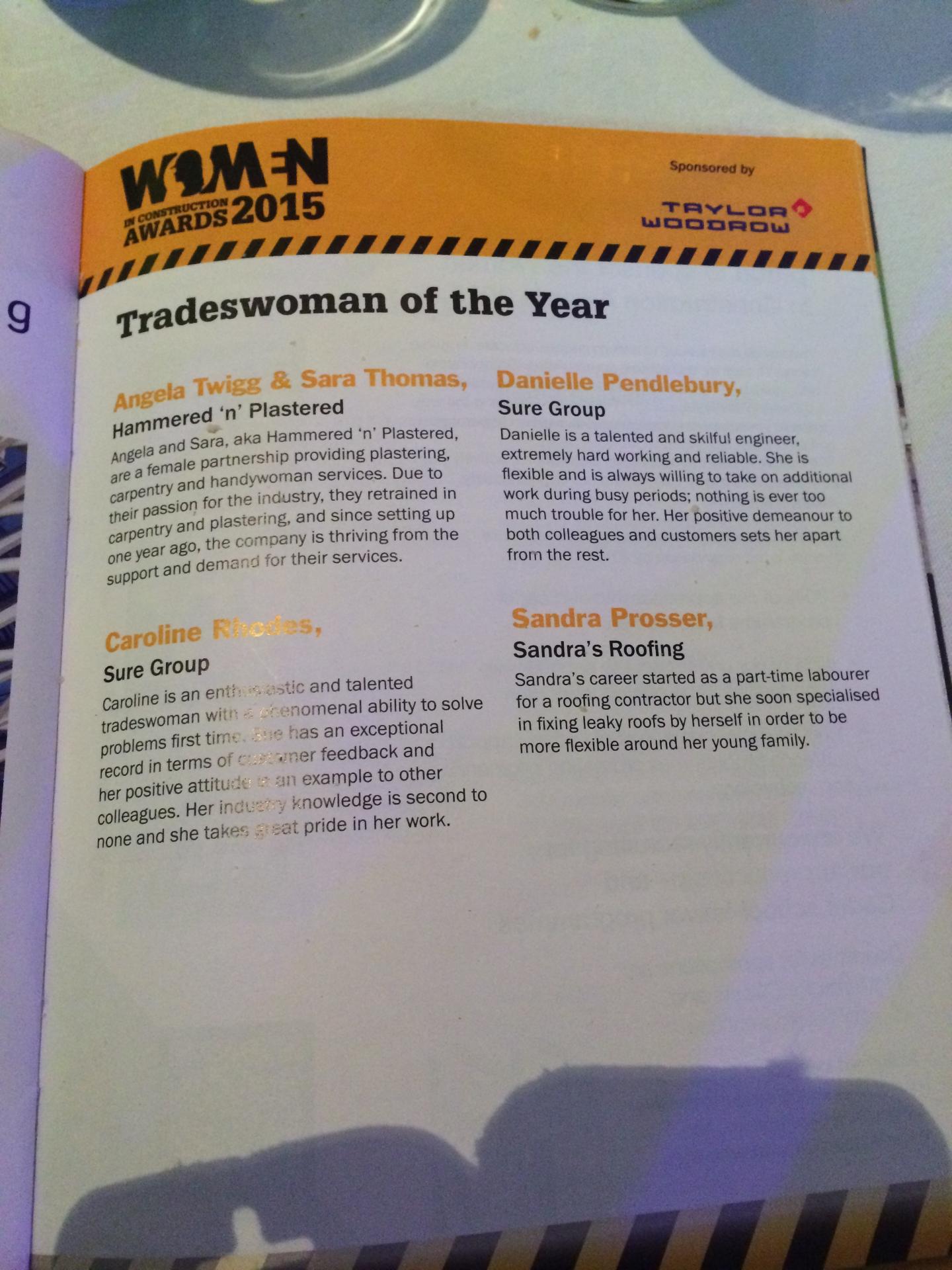 description in brochure