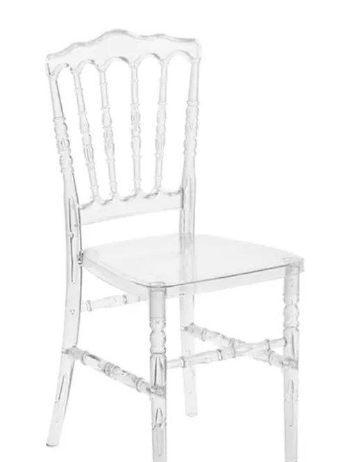 Clear Leopold Chair