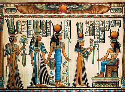 Nerfertiti and Hathor.jpg