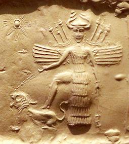 Ishtar_on_an_Akkadian_seal.jpg
