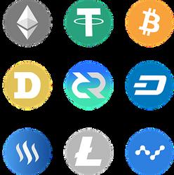 Évolution de la capitalisation des principales crypto-monnaies