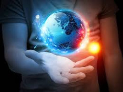 mondo nella mano