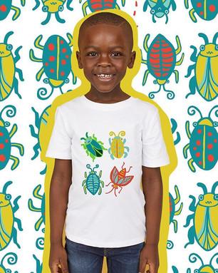 """Bug Explorer"" unisex childrenswear collection"