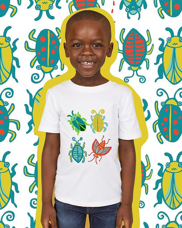 """Bug Explorer"" unisex childrenswear collection"