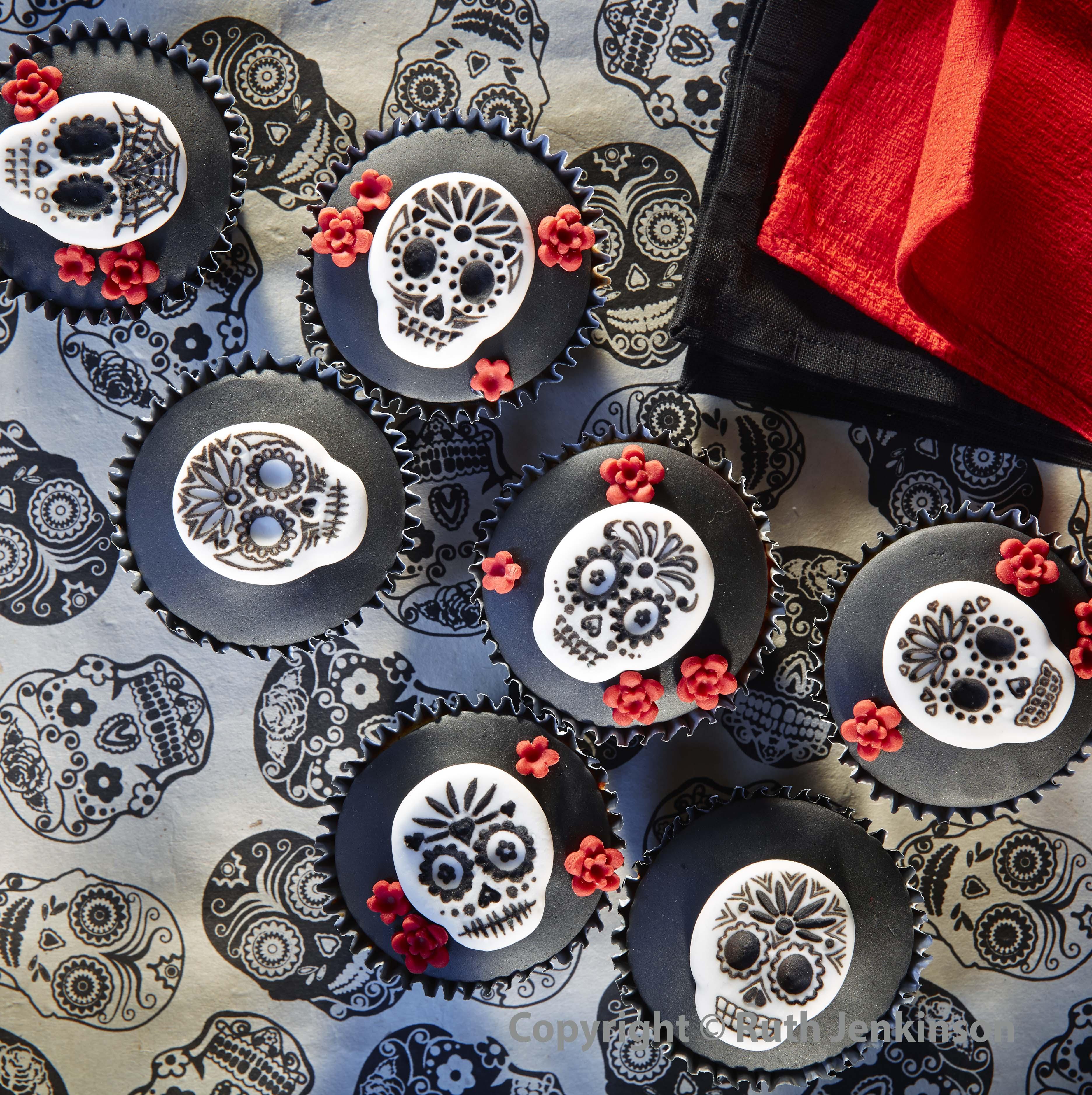 Skull cupcakes WEB