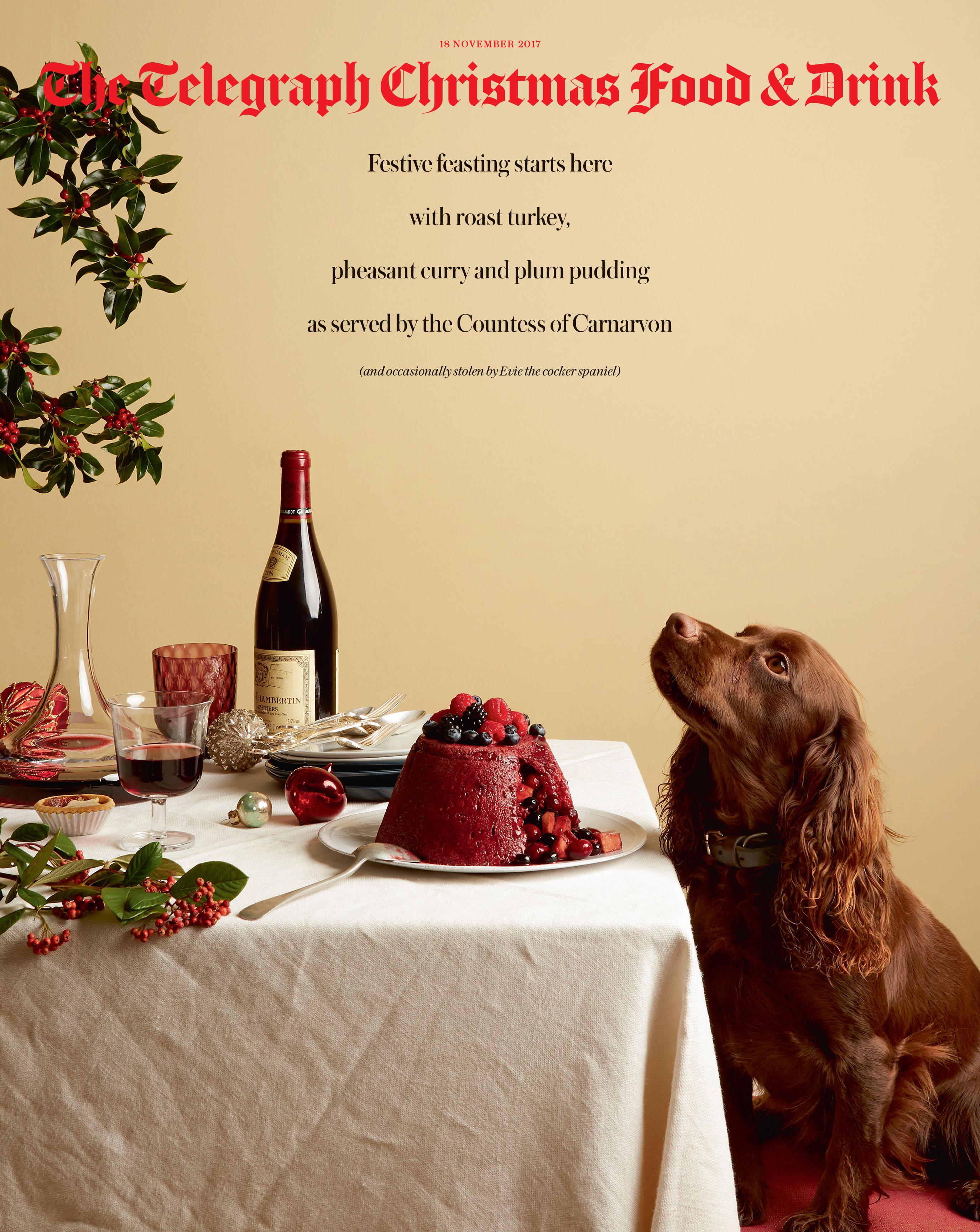 Telegraph Magazine Christmas food and drink 2017