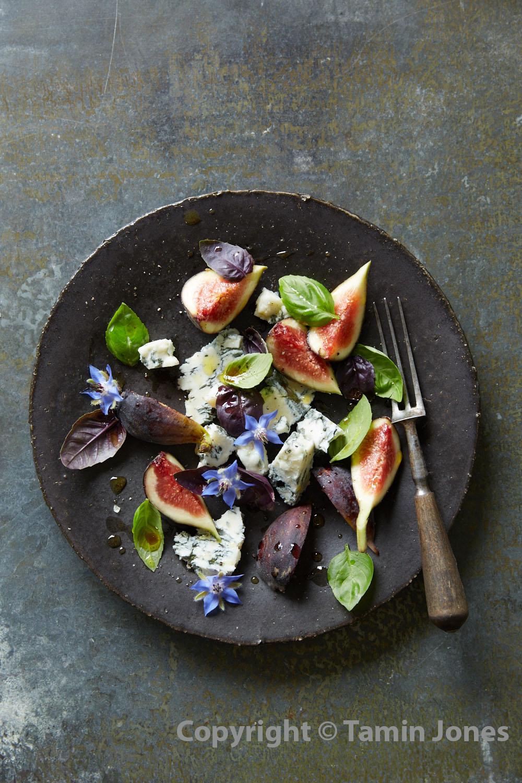 Fig Salad & Basil - watermark