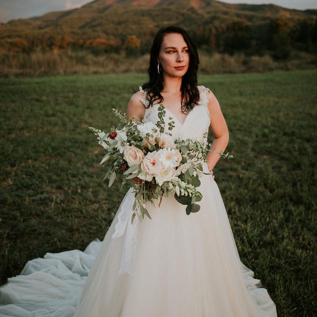 gardeny bridal bouquet