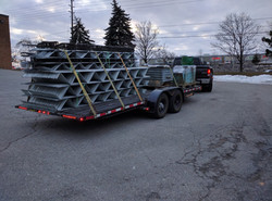 Flatbed freight transport