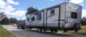 RV Trailer Transport / Towing