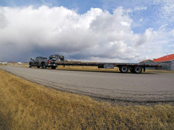 Heavy Flatbed Transport