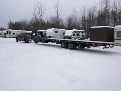 Heavy Flatbed Transport service