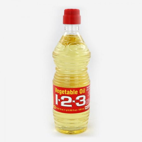 123 Pure Corn Oil, 33.8 oz.