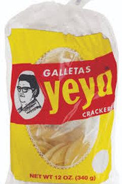 Yeya Crackers, 12 oz