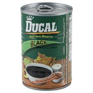 Ducal Black Refried Beans, 29 oz.
