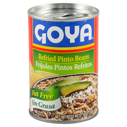 Goya Refried Pinto Beans, 16 oz.