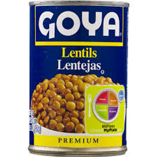 Goya Lentils, 15.5 oz.