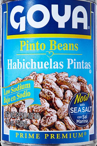 Goya Pinto Beans (Low Sodium), 15.5 oz.