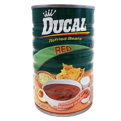 Ducal Red Refried Beans, 15 oz.
