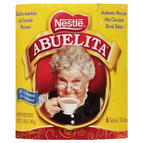 Nestle Abuelita Chocolate 6 Pack, 19 oz