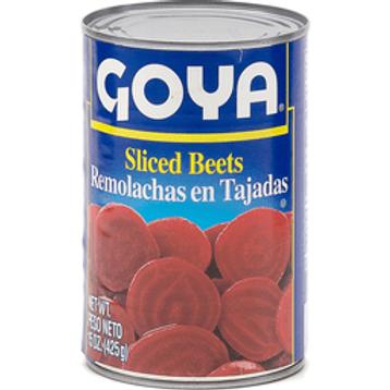 Goya Sliced Beets, 15 oz.
