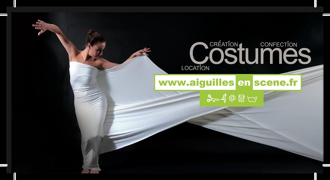 Logo location de costumes de danse