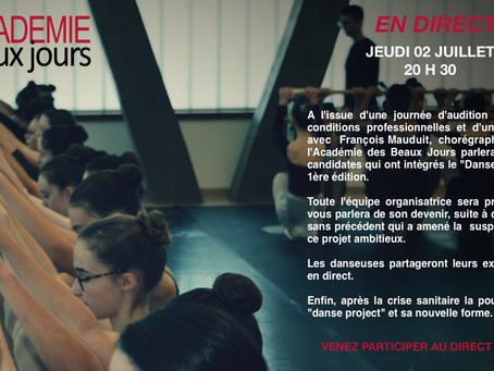 DANSE PROJECT - EN DIRECT !