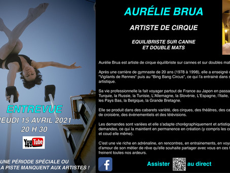 ENTREVUE - AURELIE BRUA