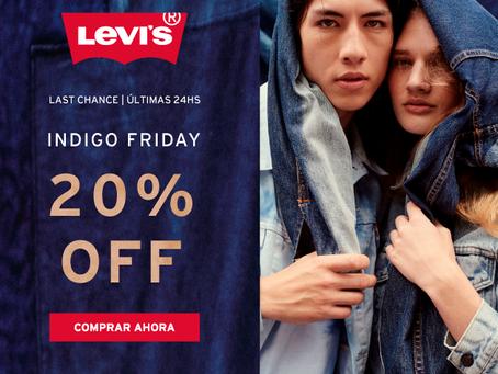 Levis AR - Indigo Friday