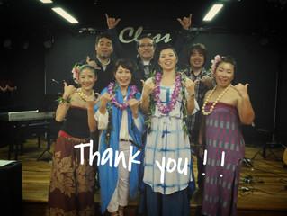 石垣ライブありがとう!