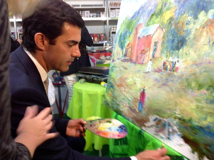FERINOA (pintura en vivo)