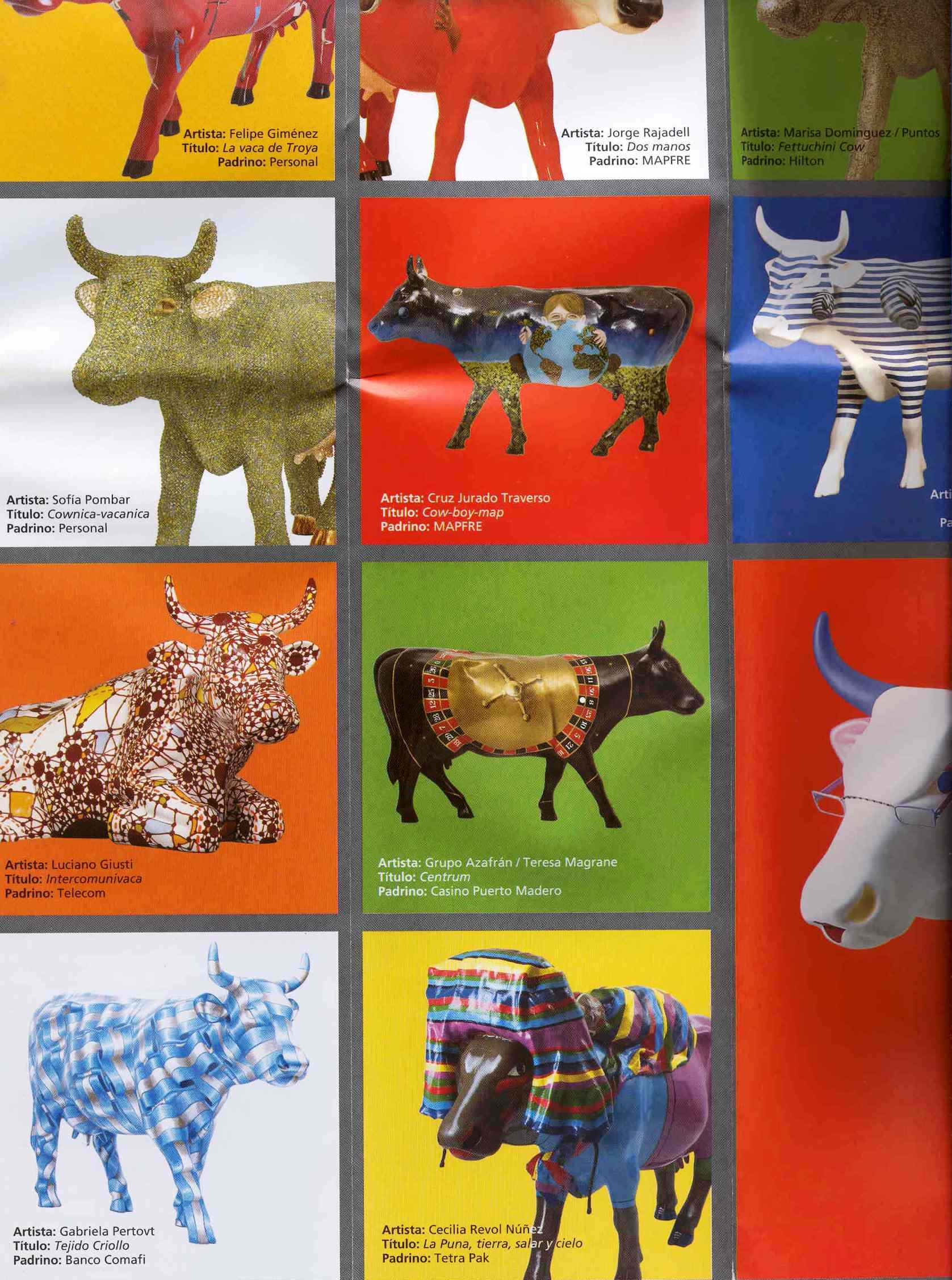 Catálogo Cow Parade