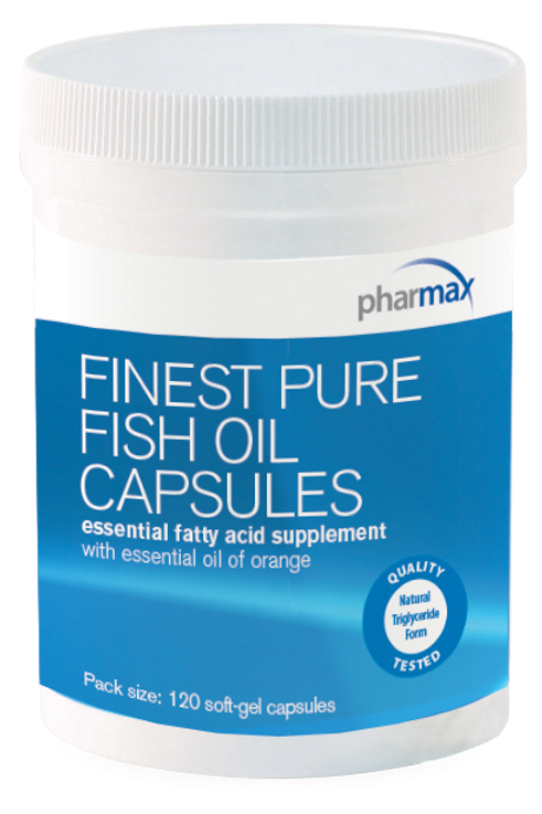 Finest Pure Fish Oil Casules