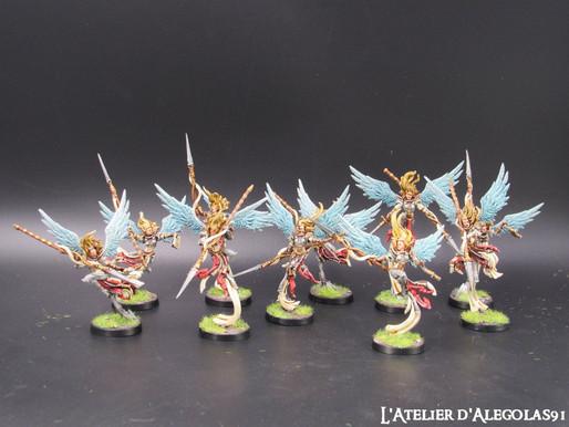 Peinture de figurines Raging Heroes