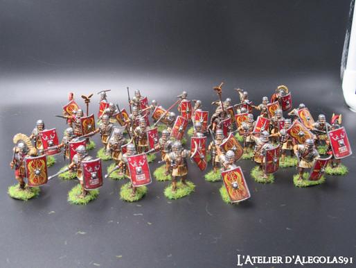 Suite peinture armée de légionnaires et barbares de la marque Victrix