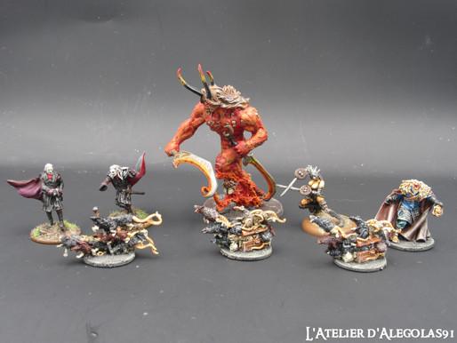 Première commande pour mon associé : figurines diverses