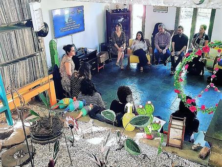 Workshop promovido pela Fundação Telefônica com a facilitação da Rede de Conhecimento Social