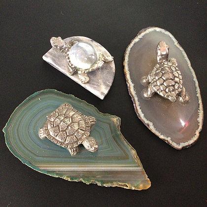 Triple Deal Turtle Figurines