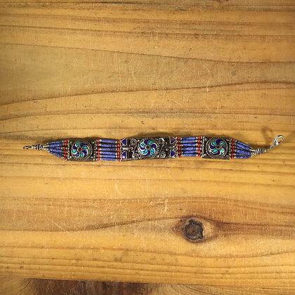 Nepalese Inlay Bracelet