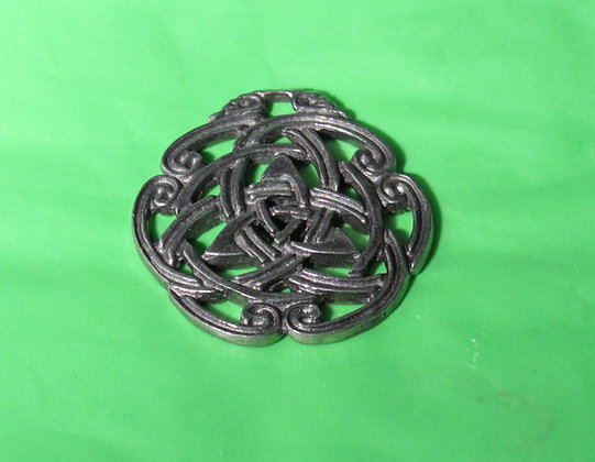Celtic Tri-Knotted Pewter Pendant