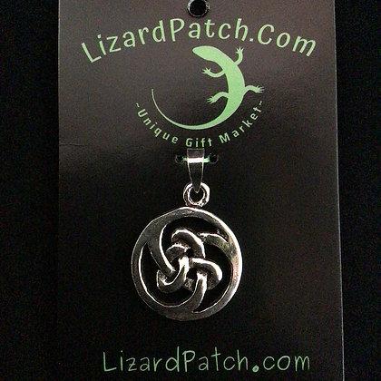 .925 Celtic Tri-Knot Pendant