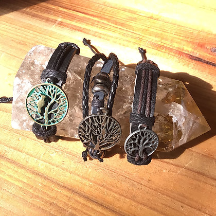 Triple Deal Tree Of Life Bracelets