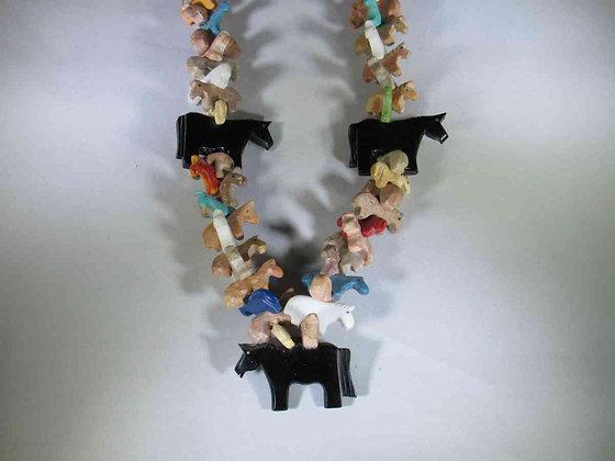 Horse Fetish Necklace