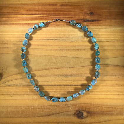 Light Blue Turquoise Necklace