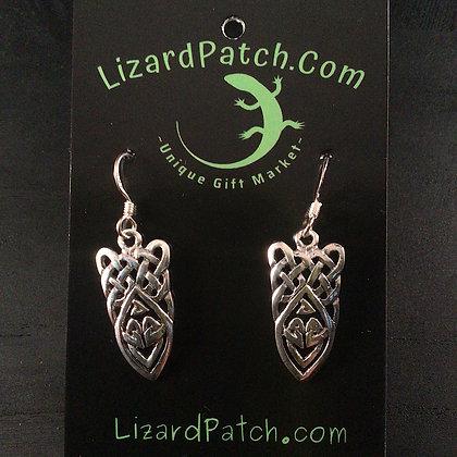.925 Celtic Knot Earrings